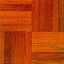 Stained Red Oak parquet-alternating finger pattern